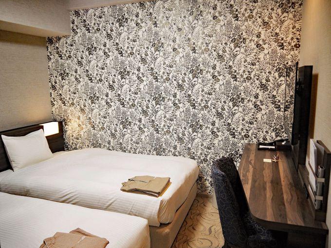 清潔感ある快適な部屋、寝心地の良いベッドが特徴!