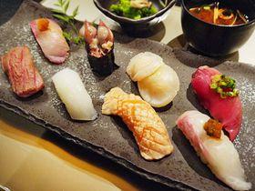 大阪駅スグ!ホテルで味わう老舗寿司店「すし萬」の絶品ランチ
