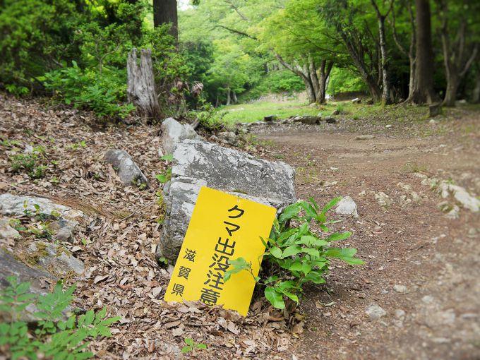 姉川の古戦場跡から小谷城跡へ
