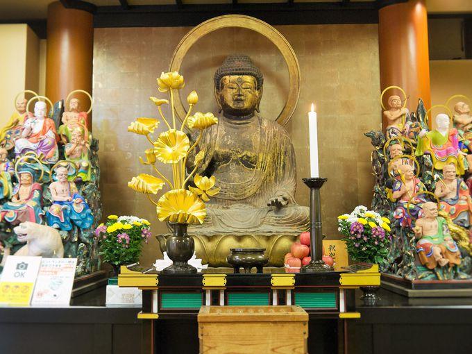 初公開となる秘められし仏像が国宝殿に集結!