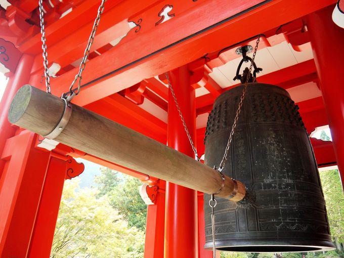 比叡山延暦寺東塔地区に響く平和な鐘の音