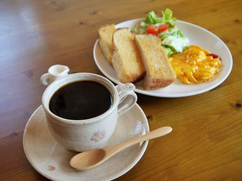 美味しい朝食モーニング