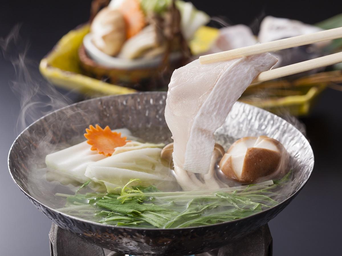 冬の和歌山のご馳走!クエ鍋を中心とした会席料理
