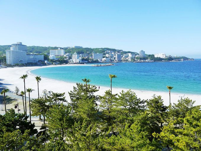 白良浜のダイナミックな景観!白良荘グランドホテル