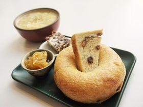 ベーグルが絶品!徳島モーニングで人気のオーバッシュカフェ