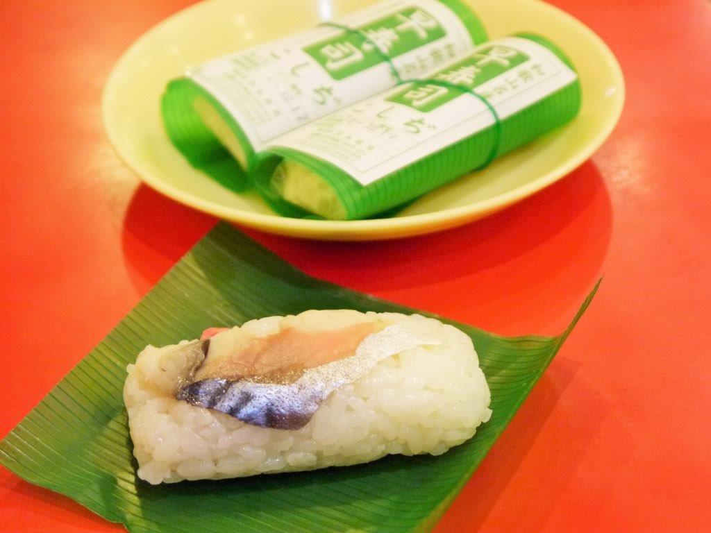 ラーメンと一緒に食べる和歌山名物!早寿司