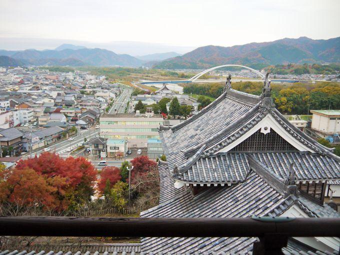 光秀が作った城下町!京都府唯一の天守閣からの眺望