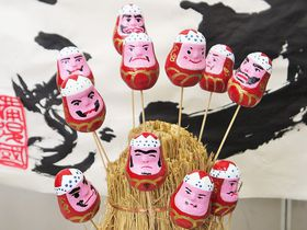 世界に一つだけのダルマ!広島県三原市で縁起良い伝統工芸体験