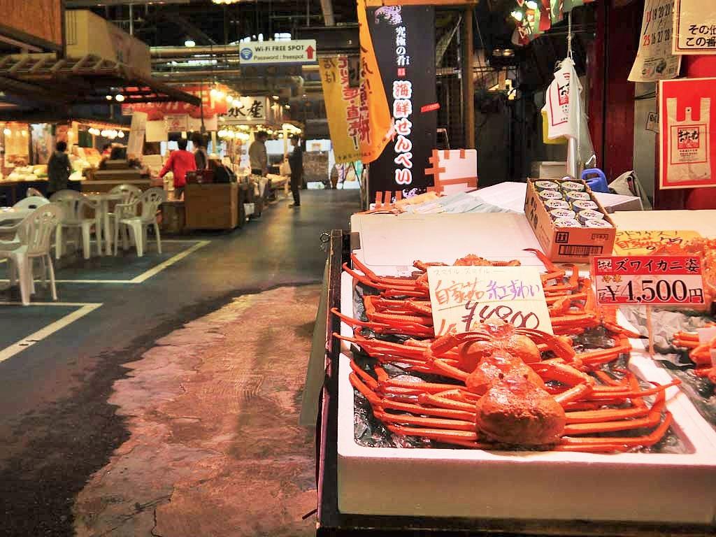 日本海側最大級のマーケット「日本海さかな街」へ
