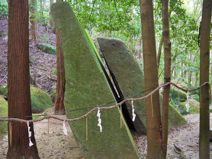 天岩戸伝説もある神秘的な天乃石立神社