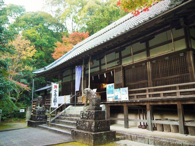 葛木坐火雷神社と笛吹神社