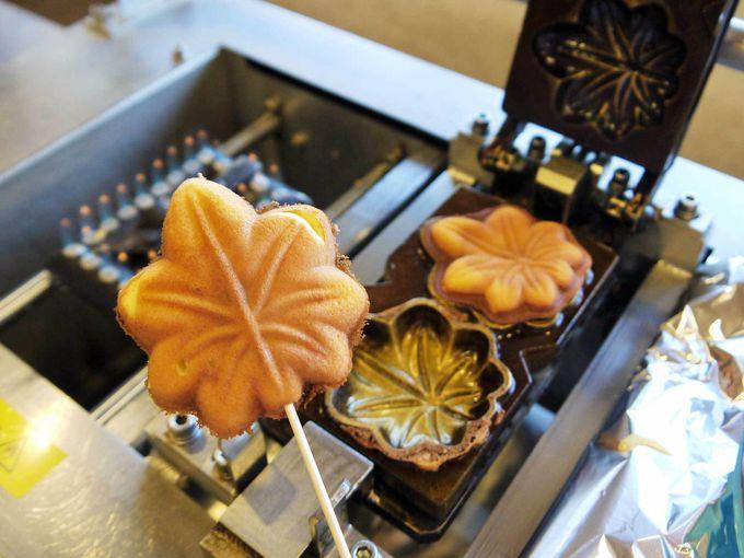 広島土産の定番「もみじ饅頭」の手作り体験