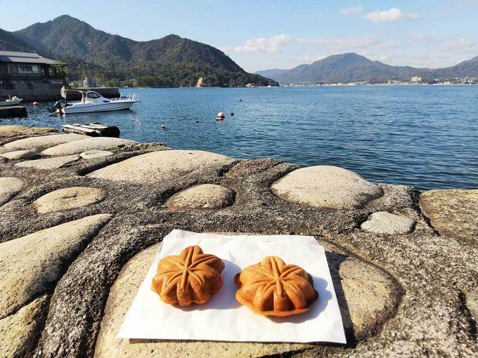 もみじ饅頭を食べたら世界遺産・厳島神社へ!