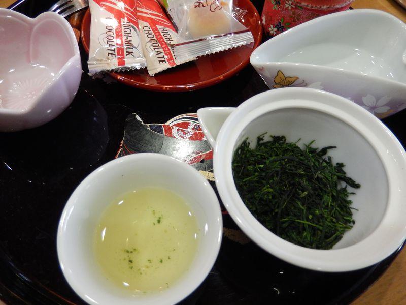 100g5,000円の玉露と茶の佃煮!本場京都宇治の宇治茶カフェ
