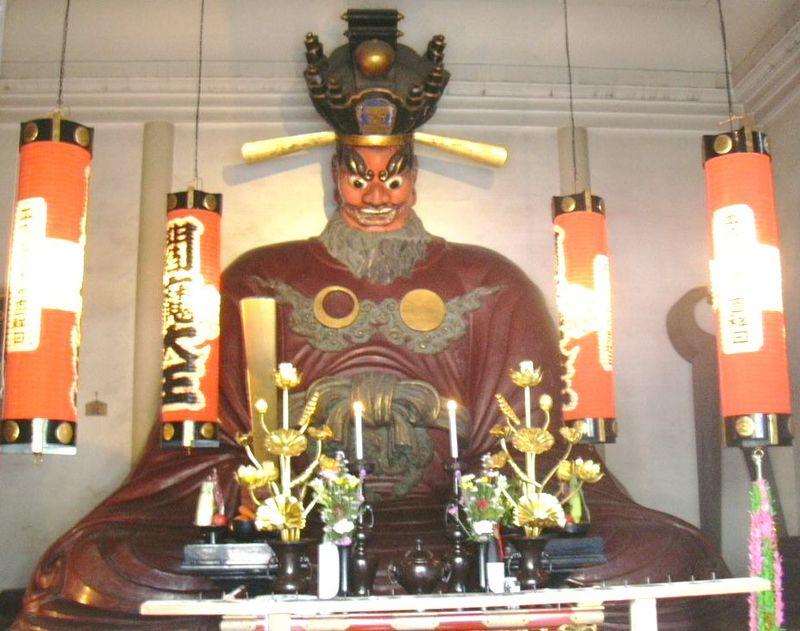 東京の内藤新宿・大宗寺で人喰い伝説の残る閻魔像と奪衣婆に会う!