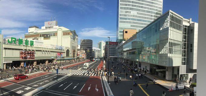 作品の中で何度も登場したのが新宿駅とバスタ