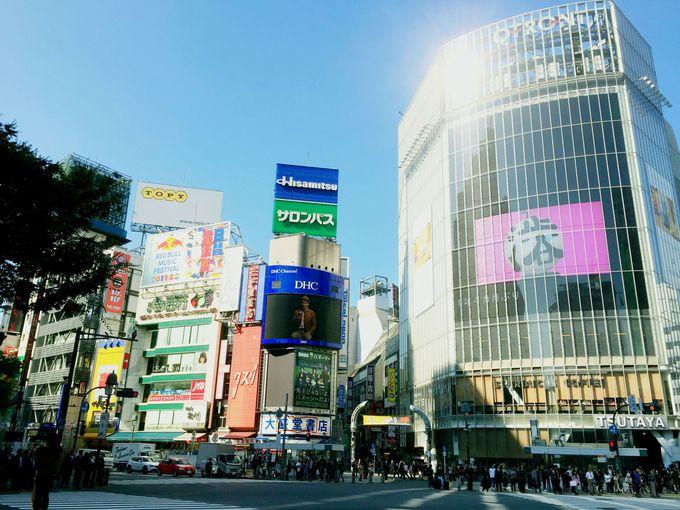 渋谷の駅を降りた瞬間から、そこは『バケモノの子』の舞台