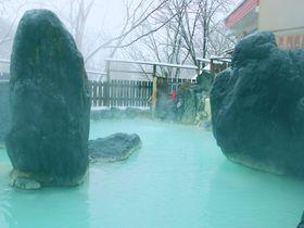 岩手の秘湯・松川温泉「峡雲荘」ミルキーグリーンの温泉で癒される