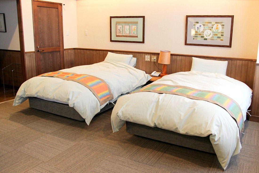 お部屋のタイプは2種類、洋室は1室のみ
