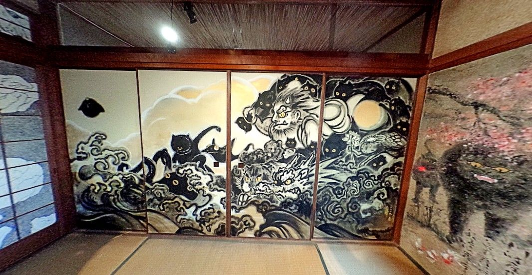 国立台湾芸術大学の学生が手掛けた妖怪美術館5