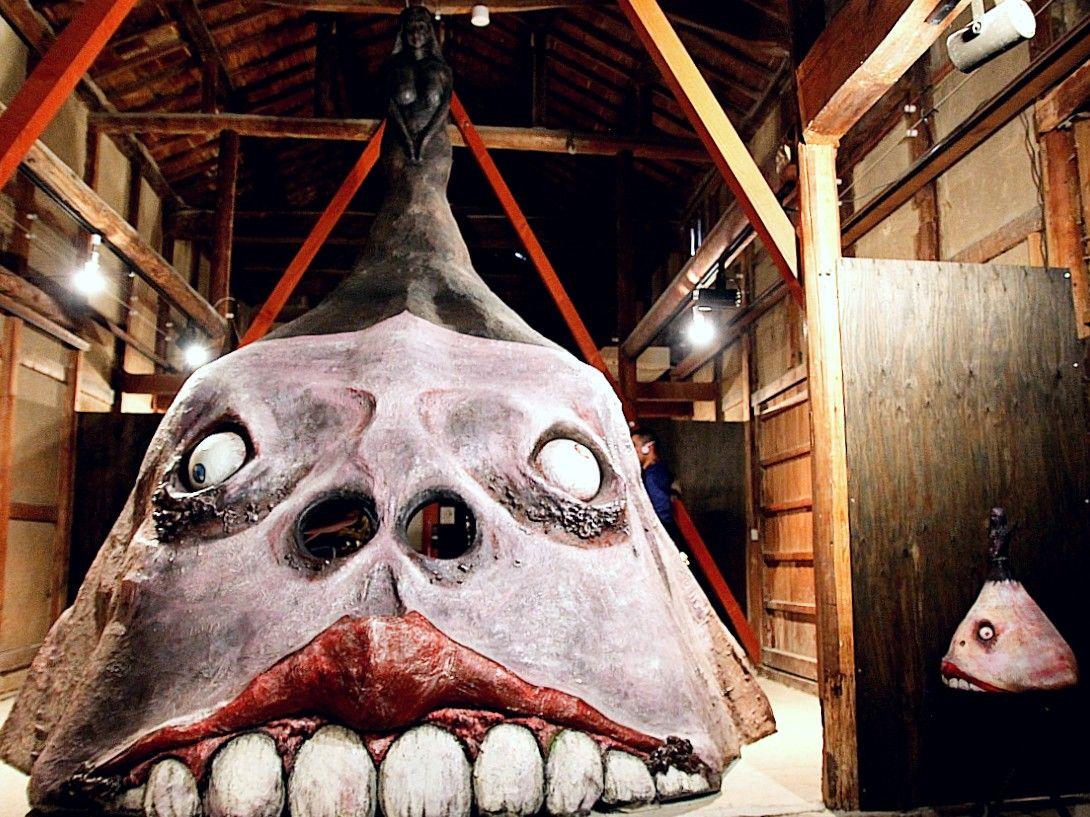 巨大な妖怪アートが待ちうける妖怪美術館2