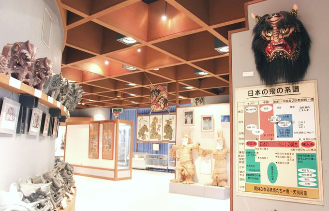 世界各地の鬼が集まる「日本の鬼の交流博物館」