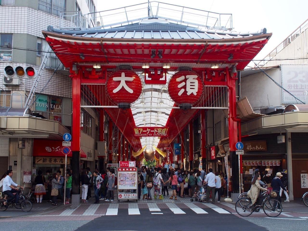 街歩き、買い物、食べ歩き。誰でも楽しめる元気な街