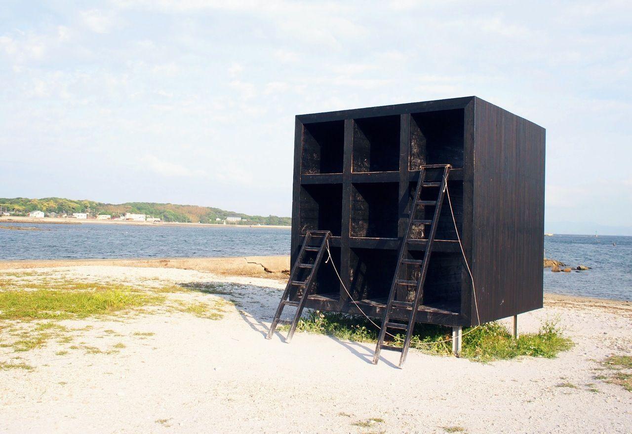 佐久島のアイコン、「おひるねハウス」