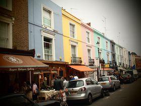 ロンドンでおしゃれな街歩き!「ノッティング・ヒル」を歩く