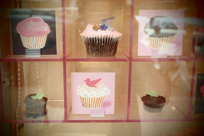 カップケーキ人気の火付け役の有名店「Humming bird bakery」