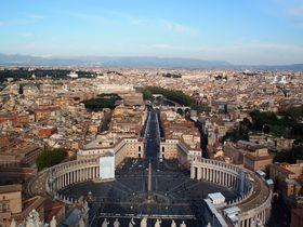 圧巻の絶景!バチカン「サン・ピエトロ大聖堂」クーポラ頂上からの眺めは必見!