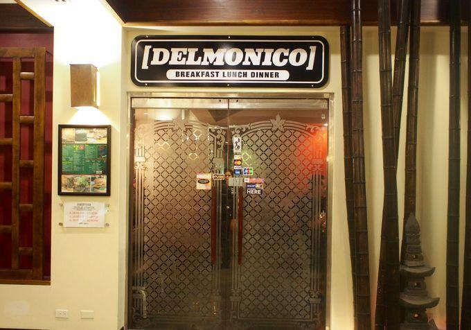 こちらが「デルモニコ」の外観!