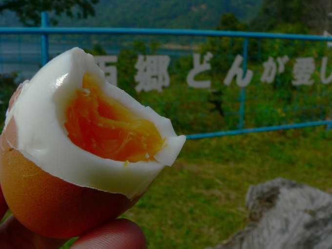 噴気で作ったゆで卵は絶品!【スメタマゴ】