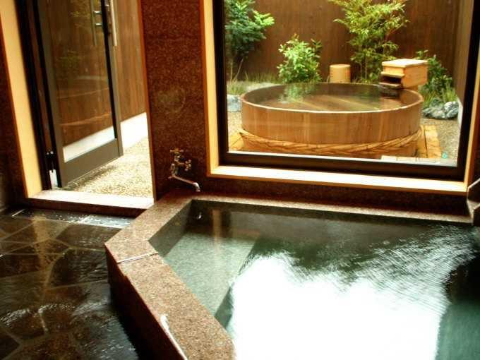 全室に趣向を凝らした露天風呂