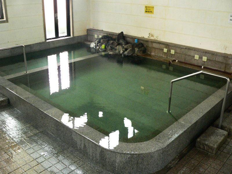 紫尾温泉の王道「紫尾区営大衆浴場」