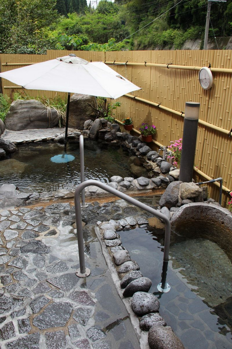 温泉と食と自然で一日のんびりゆっくり