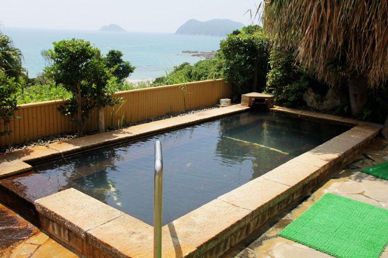 東シナ海を一望できるおすすめの露天風呂
