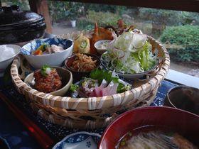 篤姫ゆかりの指宿おすすめ!古民家カフェでお昼ごはん「梅里」