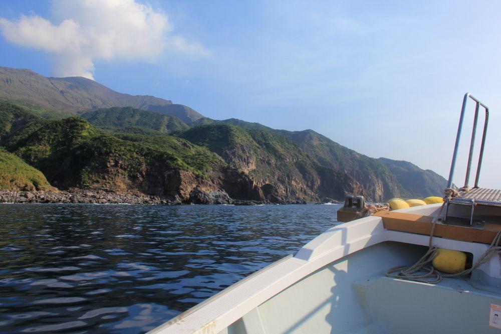 諏訪之瀬島到着!作地温泉へ次の関門は島の天気と潮