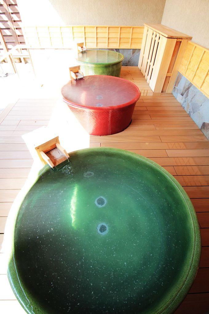 硫黄華が舞う贅沢温泉をさらにラグジュアリーに!