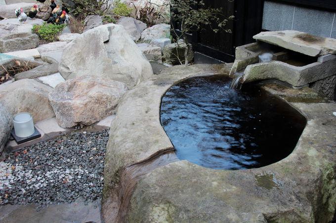 温泉王国鹿児島においても希少な黒湯