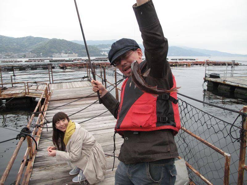 お父さんの腕の見せ所!熱海で唯一の海上釣り堀「太公望」体験