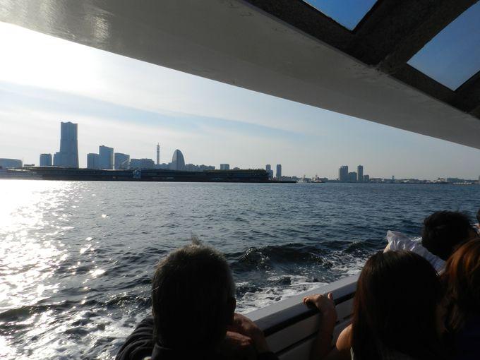 シーバスで、海からも横浜の街を楽しもう