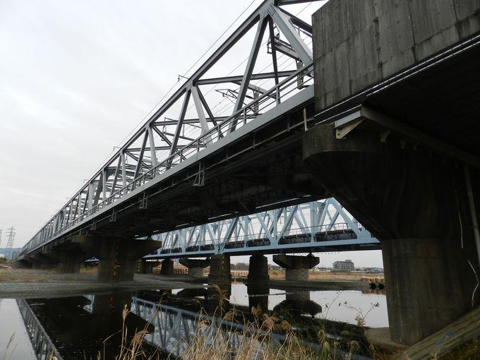 鴨宮駅から徒歩15分。広々とした開放的な河川敷が!