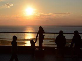 ココは朝日と夕日の絶景スポット!太平洋一望の千葉県刑部岬の展望台