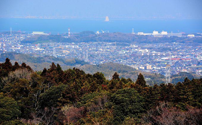 鹿野山を目指して県道163号を進む