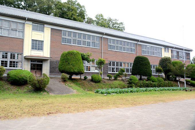 伊参スタジオ公園(旧第四中学校)は映画撮影の本拠地