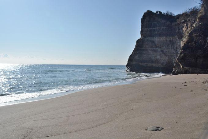 白い砂と打ち寄せる波。そして目の前に広がる太平洋!