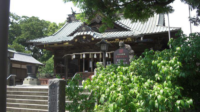板倉町の雷電神社は雷電神社の総本山