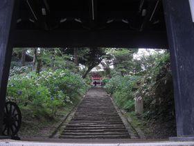 茨城県有数のパワースポット!山全体に霊力溢れる・雨引観音